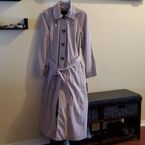 London Fog Raincoat w/Detachable Flannel Liner -8